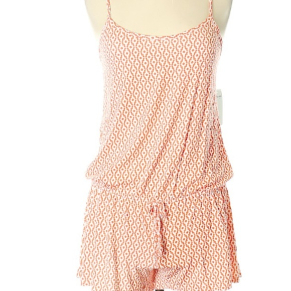 4a14b8b98f Splendid Pants | Nwt 68 Cotton Orange Romper L | Poshmark